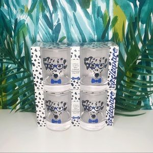 Other - Circleware Dalmatian Whiskey Glasses